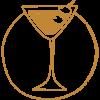icona santini cocktail BROWN